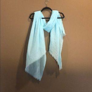 Igor blue lightweight scarf